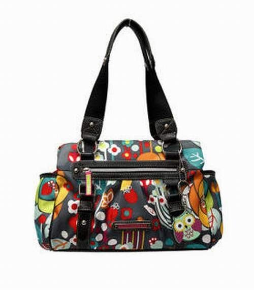 Lily Bloom Triple Section Satchel Bliss