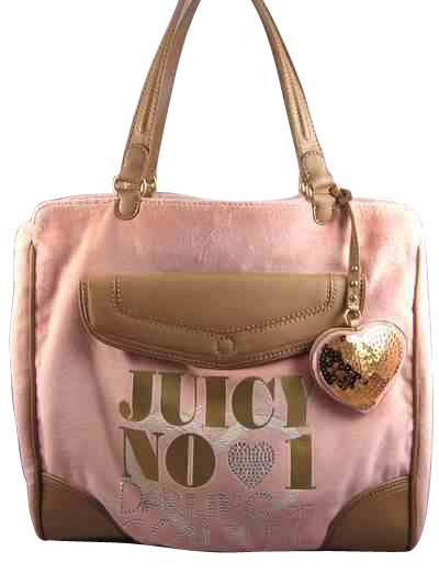 Juicy Couture YHRUS237 Dpabrgn Large Tote Damsel