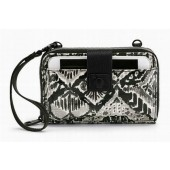 Sakroots Smartphone Wristlet Wallet Crossbody Jet Brave Beautiful