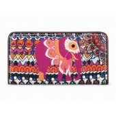 Sakroots Artist Circle Slim Wallet Camel One World