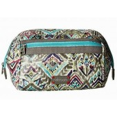 Sakroots Carryall Cosmetic Bag Slate Brave Beauti