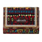 Sakroots Artist Circle Small Trifold Wallet Cherry One World