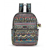 Sakroots Artist Circle Cargo Backpack Radiant One World