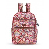 Sakroots Artist Circle Cargo Backpack Sweet Red Brave Beauti