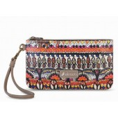 Sakroots Artist Circle Charging Wristlet Camel One World