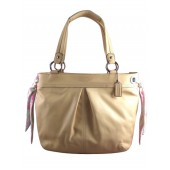 Coach 13556 Kyra Soft Large Leather Tote light Tan