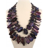 Purple Variegated Imperial Jasper Semi Precious Gemstone