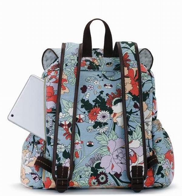 2dbf9991b446 More Views. Sakroots Artist Circle Flap Backpack Sky Blue Flower Power