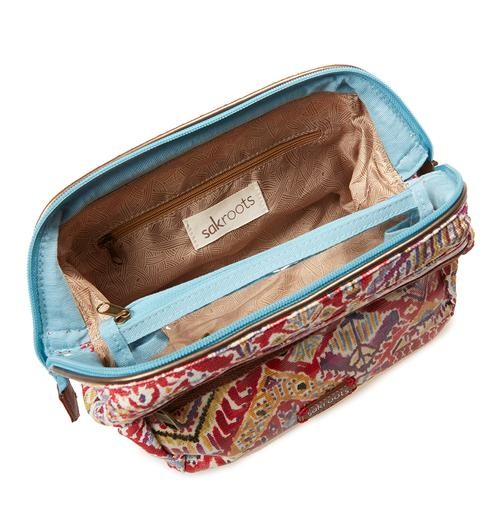 More Views Sakroots Carryall Cosmetic Bag
