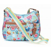 Lily Bloom Double Section Convertible Crossbody Owl Always Love You